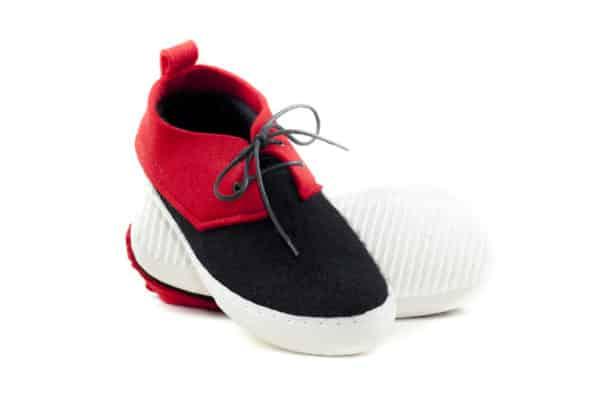 Felt sneakers-428